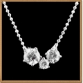 "IR Diamond Nifty Necklace W950394 (Size 16"") / Piece"