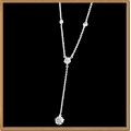 "IR Diamond Nifty Necklace W950396 (Size 16"") / Piece"