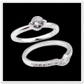IR Diamond Rossini Ring W351458 (Size 53) / Set 2 piece