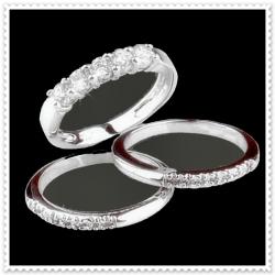 ไออาร์ ไดมอน เซตโรสซินี่ แหวนเพชร W351460 ขนาด 53 / ชุด 3 ชิ้น