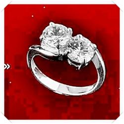 ไออาร์ ไดมอน เซต เกย์ ปารีส แหวนเพชร W351528 (ขนาด 51) / ชิ้น