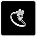 ไออาร์ ไดมอน เซต เกย์ ปารีส แหวนเพชร W351529 (ขนาด 51) / ชิ้น