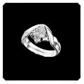 ไออาร์ ไดมอน เซต เกย์ ปารีส แหวนเพชร W351531 (ขนาด 51) / ชิ้น