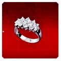IR Diamond Gay Paris Ring W351532 (Size 51) / Piece