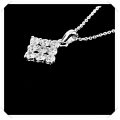 "IR Diamond Gay Paris Necklace W551868 (Size 16"") / Piece"